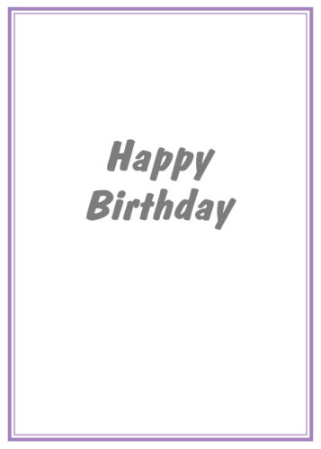 FROM THE CAT HAPPY BIRTHDAY CARD CARTOON GINGER CAT  FREE POST 1ST CLASS