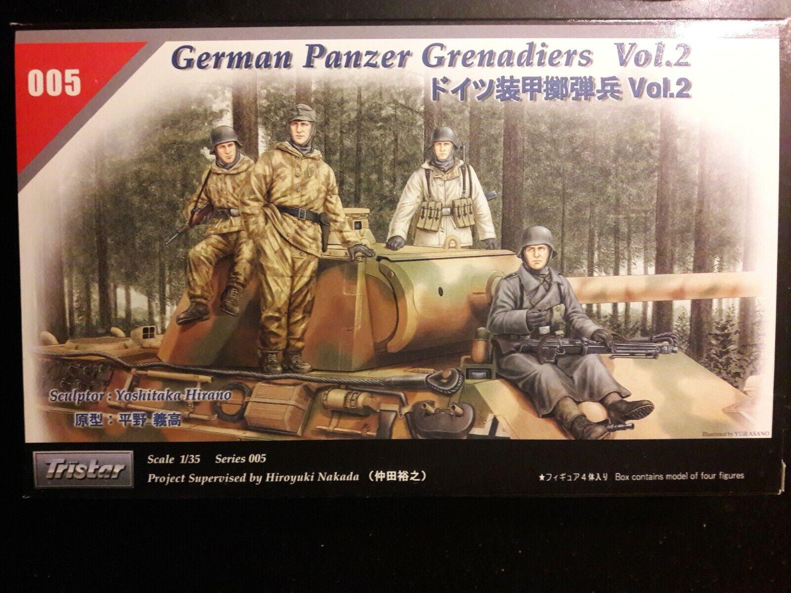 TRISTAR 35055 WWII German Panzer Crew Set Figuren in 1:35