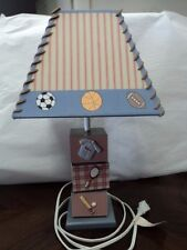 SPORTS THEME BABY NURSERY LAMP LIGHT BOYS GIRLS BASEBALL FOOTBALL SOCCER - NICE!