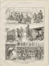 1887 CZARS VISIT TO DON COSSACKS RUSSIAN ARMY