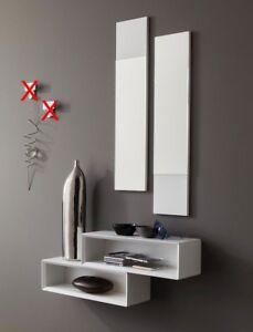 Mobile da ingresso moderno lego consolle specchi in varie colorazioni 604 ebay - Specchi moderni per ingresso ...