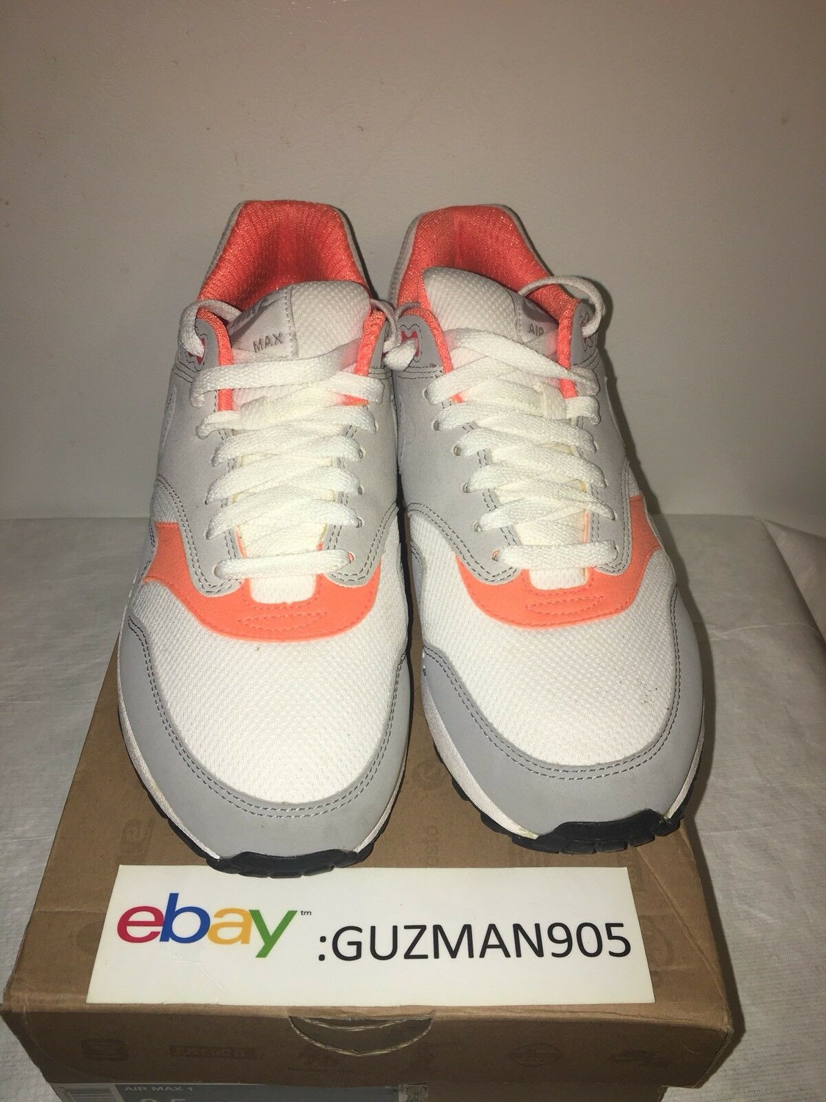 2010 Nike Air Max 1 Total orange Size 8.5 308866 106 Patta Atmos Euro 87