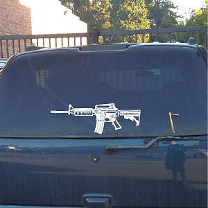 M4 carbine vinyl decal,A1,stock,sling,buttock,sight,rail hand guard,magazine,lg