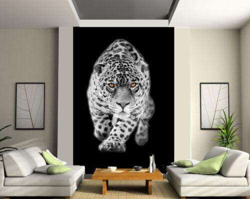 tapestry wall deco jaguar n/&b ref 1364 Giant wallpaper 2 roll form