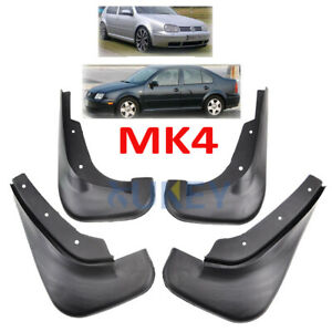 Set-For-VW-GOLF-MK4-JETTA-BORA-98-05-Mud-Flaps-Splash-Guards-Fender-Mudguards