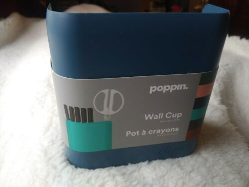 Poppin Magnetic Cup Holds up to 1//2 lb Store Vertical Modern Look