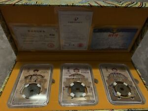 China-Coins-3-Dynasty-With-Cert-and-box