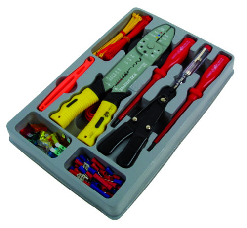 1X Laser Tools Electrical Repair Crimping Kit Workshop Garage Handy Precision