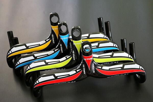 Carbon Fiber Racing Drop Integrated Bar Stem Handle bar for Road Bike Bicycle