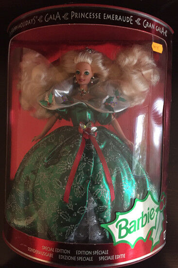 HAPPY HOLIDAYS BARBIE (Princesse Emeraude) 1995 Spec. Edition  NEU & OVP (14123)