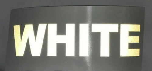 """8 colors Custom Highly Reflective Vinyl 2.5/"""" Inch Letters//Numbers"""