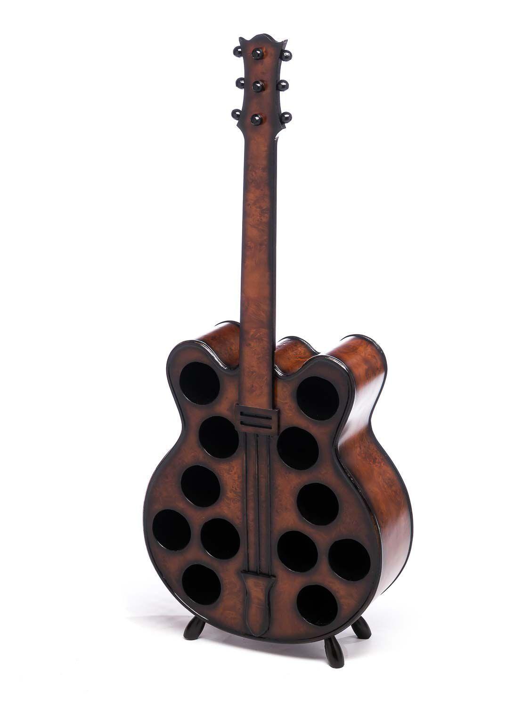 Estante de vino 124cm guitarra vino soporte soporte soporte estante para botellas soporte para botellas estante para vino fb77e4