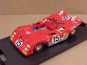 Bumm-R259-1-43-Diecast-Ferrari-312-PB-1971-1000-Km-Monza-15-Ickx-amp-Regazzoni