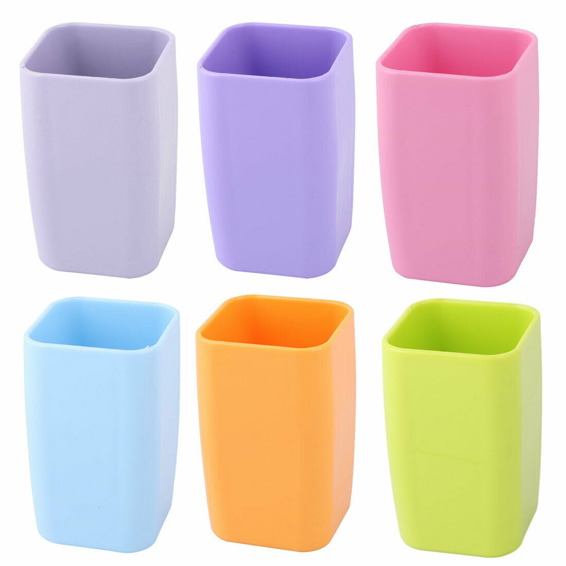 Bathroom Plastic Toothbrush Toothpaste Holder Tooth Cleaning Mug Cup 300ml