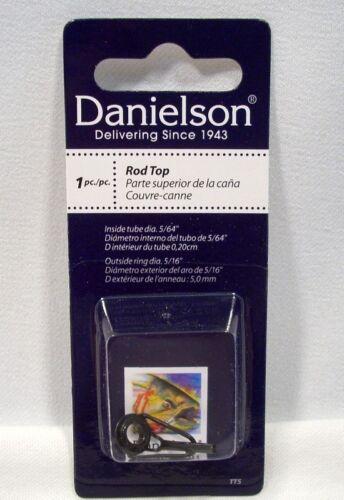 """Danielson Size 5 Fishing Rod Top 5//64/"""" Inside Tube Diameter 5//16/"""" Outside Ring"""