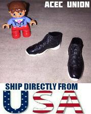 "KUMIK 1/6 Scale Sports Sneaker Shoes BLACK For 12"" Female Figure - U.S.A. SELLER"