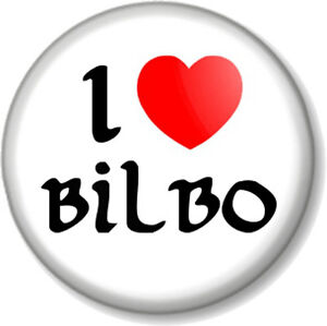 I-Love-Heart-BILBO-25mm-Pin-Button-Badge-The-Hobbit-Lord-Of-Rings-JRR-Tolkein