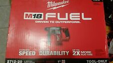 """Milwaukee M18 FUEL 1"""" SDS Plus Rotary Hammer (TOOL ONLY) 2712-20: NEW"""