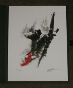 Assassins Creed Red Lineage Collection Lithograph Giclee Connor