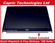 NUOVO Acer Aspire V5-571 V5-571P MS2361 Touch Screen Vetro Digitalizzatore Con Telaio