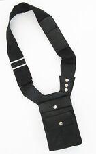 LEATHER MEN's Shoulder Messenger Bag Hidden Gun Tactical Holster Style Pouch New