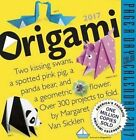 Origami Page-a-day Calendar 2017 by Margaret Van Sicklen 9780761187912