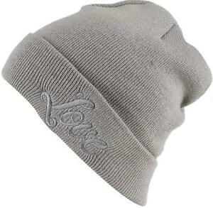 NEFF Kate Upton  Love  - Grey - Fold Beanie - One Size - Juniors ... 741636215af