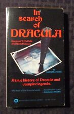 1974 IN SEARCH OF DRACULA 4th Warner Paperback VF- w/ 60 Illustrations