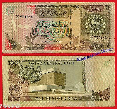 Katar 100 Sar 1996 Pick 18 Bc G Träne