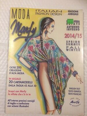 Moda Marfy Italian Fashion Design 2014 2015 Ebay