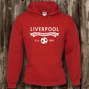 Liverpool-Football-Fan-Mens-Womens-Hoodie-The-Reds-Present-Clothing-Hood