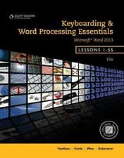 Keyboarding and Word Processing Essentials, Lessons 1-55 by Susie H. Vanhuss, Donna L. Woo, Connie M. Forde and Vicki Robertson (2013, Spiral)