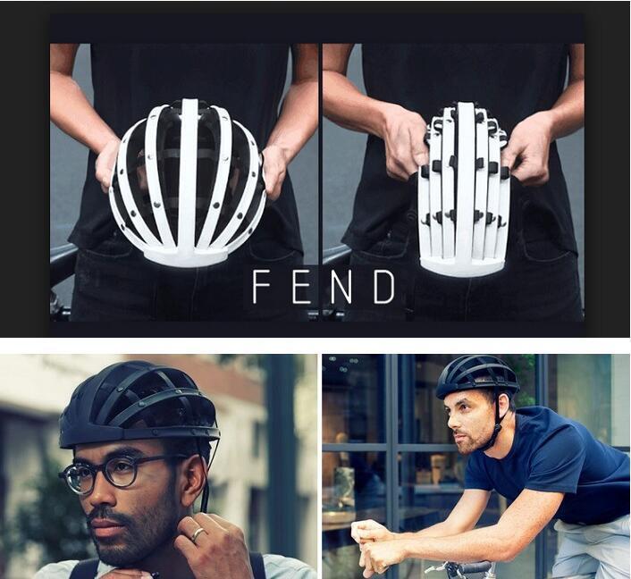 NEW Portable Outdoor Sport Cycling Folding Helmet MTB Mountain Road Bike Helmets