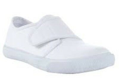 John Lewis Children's Blanco Zapatillas De Tenis Talla Uk10