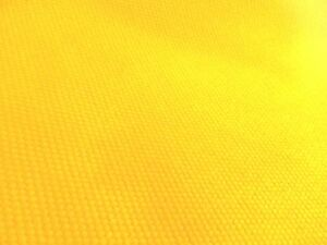 Pottery-Barn-Fabric-Brushed-Canvas-Dandelion-yellow-3-yards-great-4-slipcover