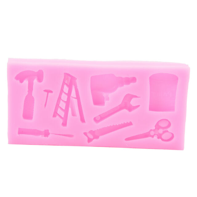 Silicone Fondant Molds Cake Decorating Tools Candy Chocolate Moulds-DE