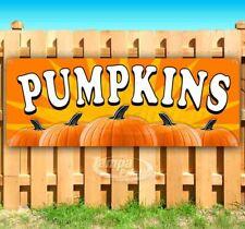 Pumpkins Advertising Vinyl Banner Flag Sign Many Sizes Halloween Hay Fall Usa