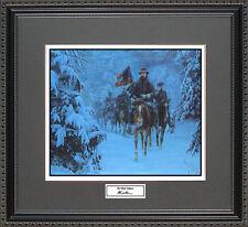 Mort Kunstler THE GHOST COLUMN Framed Print Civil War Wall Art Gift