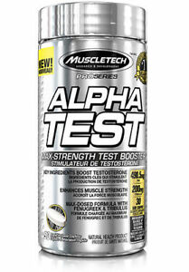 MuscleTech Pro Series Alpha Test Testosterone Booster Capsules 120 Ct Exp  2020