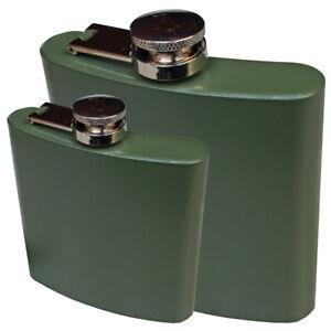 Fox Outdoor poches Bouteille Flasque en acier inoxydable, olive 6 oz 170 ML - 8 oz 225 ml  </span>