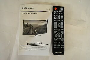 element eleft326 tv remote control and user manual 20352 rh ebay com mammut element user manual honda element user manual