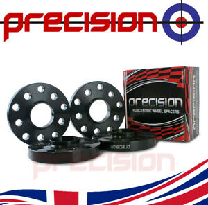 2-Pairs-of-Black-Hubcentric-20mm-Alloy-Wheel-Spacers-for-VW-Volkswagen-Golf-MK6