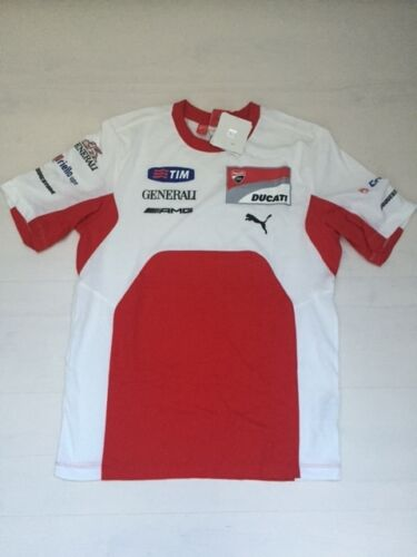 10086 PUMA TEAM DUCATI 2012 OFFICIAL JERSEY VALENTINO ROSSI OFFICIAL TEE SHIRT