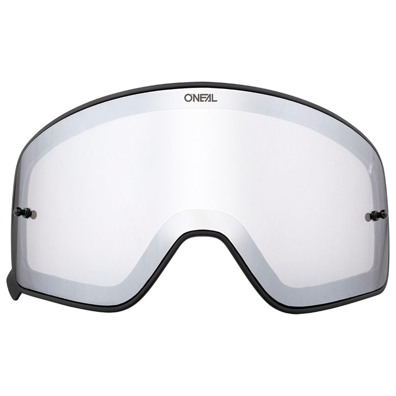 ONeal B-50 Goggle Force Moto Cross Brille Verspiegelt Verspiegelt Verspiegelt Klar +Ersatz Scheibe MTB 4ac85f