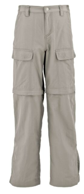 WHITE SIERRA X9711Y YOUTH BOYS GIRLS JR TRAIL CONVERTIBLE HIKING TRAVEL PANT