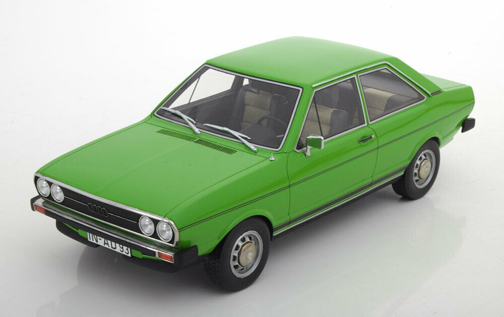 AUDI 80 80 80 GT 1973 LIGHT GREEN BEST OF SHOW BOS056 1 18 RESINE HELL GRUN RESIN d8318c