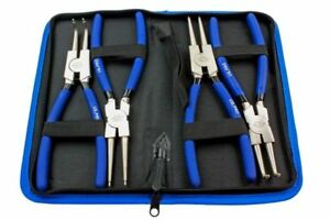 US-PRO-4pc-225mm-9-034-Circlip-Plier-Snap-Ring-Plier-Set-Ni-Fe-Finish-1822