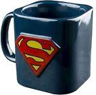 Superman 3d Classic Logo Mug - Dark Blue