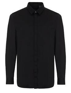 AX Armani Exchange - Camicia Uomo Nero Slim Fit