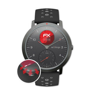 3x-Anti-Shock-Screen-Protector-voor-Withings-Steel-HR-Sport-40mm-mat-amp-flexibel